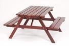 【南洋風休閒傢俱】休閒桌椅系列- 四尺有孔啤酒桌組 戶外休閒餐桌椅組 野餐桌椅組 TT-120