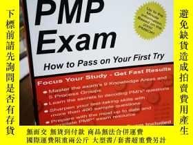 二手書博民逛書店The罕見PMP Exam: How to Pass on Yo