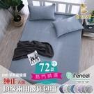 【BEST寢飾】天絲床包三件組 雙人5x6.2尺 100%頂級天絲 萊賽爾 附正天絲吊牌 U1