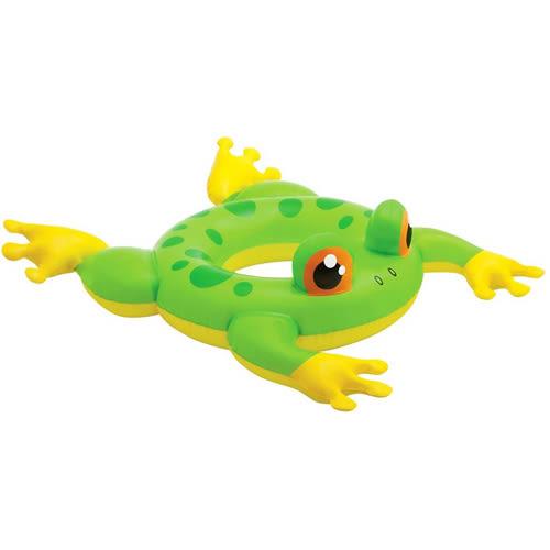 【奇買親子購物網】INTEX 動物造型游泳圈/隨機出貨