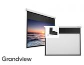 《新竹 名展音響》加拿大 GRANDVIEW 120吋上黑邊40公分 16:9 Fancy 系列 FC-MF120 智能電動布幕