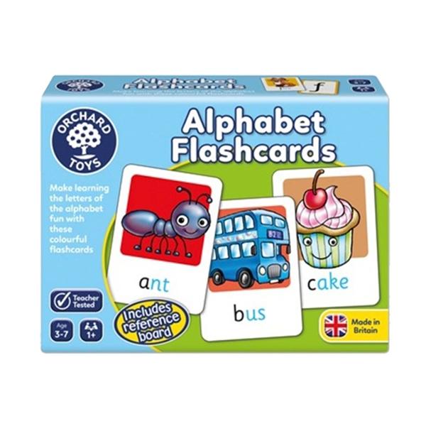 【英國 Orchard Toys】兒童桌遊-語言學習 字母閃卡 OT-024 Alphabet Flashcards
