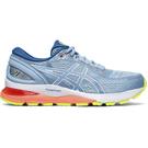 ASICS GEL-NIMBUS 21 (D) 女鞋 慢跑 訓練 寬楦 回彈 藍 【運動世界】 1012A155-402