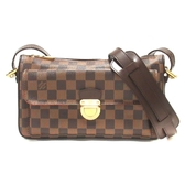 LOUIS VUITTON LV 路易威登 棋盤格斜背包 Ravello GM N6006 【BRAND OFF】