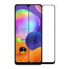 Samsung 鋼化玻璃膜 三星 A31 滿版彩色全覆蓋鋼化玻璃膜 手機螢幕貼膜