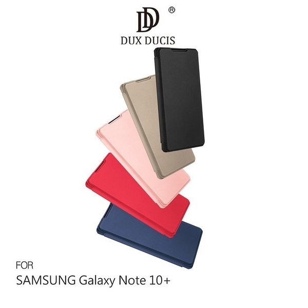 DUX DUCIS SAMSUNG Note 10、Note 10+ SKIN X 皮套 可插卡支架皮套