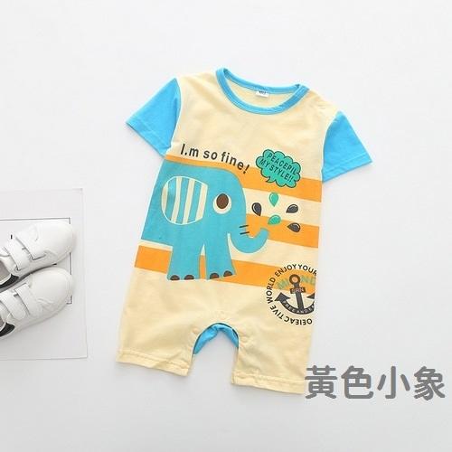 短袖兔裝 小動物造型連身裝 寶寶兔裝 春夏童裝 XE10420 好娃娃