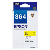 EPSON T364450 (NO.364) 原廠黃色墨水匣 xpression Home XP-245 / XP-442