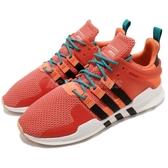 【六折特賣】adidas 復古慢跑鞋 EQT Equipment Support ADV 橘 黑 編織鞋面 運動鞋 男鞋【PUMP306】 CQ3043