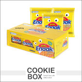 ~即期品~韓國Enaak 重量包大雞麵香脆點心麵24 包入盒裝720g 脆麵小雞點心麵餅乾