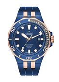 EDOX DELFIN 海豚系列 機械自動腕表日曆錶腕表E80110.357BURCA.BUIR藍43 mm