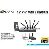 ROWA 影音傳送器 【RW-5800】 WHDI 無線影像傳輸 1080P 會議簡報 家庭數位生活 新風尚潮流