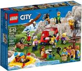 【LEGO樂高】 CITY 戶外探險人偶套組 #60202