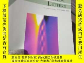 二手書博民逛書店Physical罕見Review Letters Volume