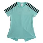 Adidas 愛迪達 W D2M 3S TEE  短袖上衣 DU2074 女 健身 透氣 運動 休閒 新款 流行