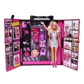 《 MATTEL 》芭比時尚衣櫃人物組 ╭★ JOYBUS玩具百貨