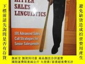 二手書博民逛書店Heavy罕見Hitter Sales Linguistics: 101 Advanced Sal (詳見圖),硬