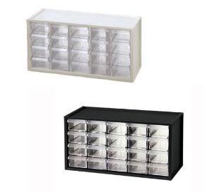 樹德A9-520小幫手零件分類箱(黑/白)  S1-53011424