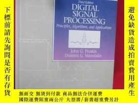 二手書博民逛書店Digital罕見Signal Processing: Prin