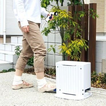 Green life自動收卷水管車20M 日本品牌 五段水型 抗紫外線外殼 腳踩式收捲