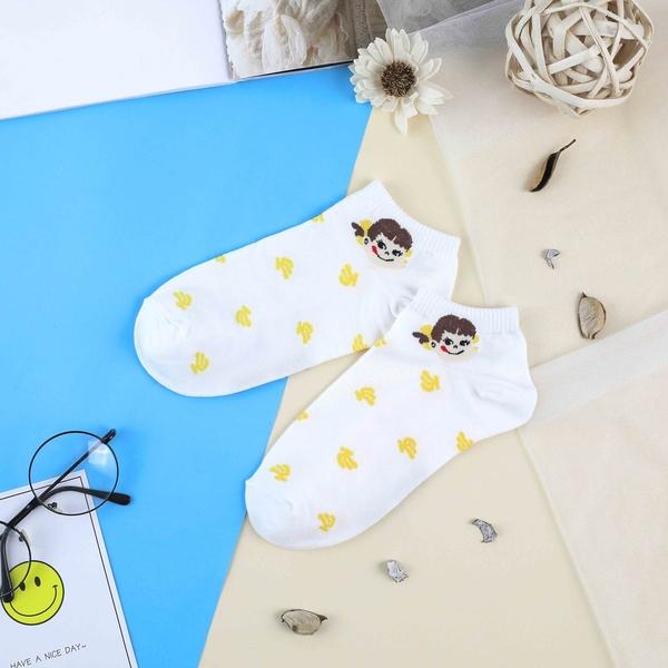【正韓直送】不二家短襪 韓國襪子 船襪 韓襪 女襪 棉襪 peko 牛奶妹 韓妞必備 哈囉喬伊 Q2