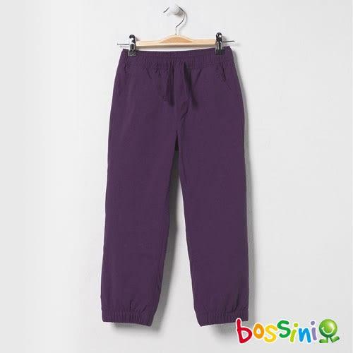 彈性輕便保暖褲01深紫-bossini童