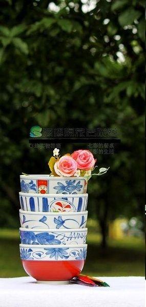 陶瓷  餐具 套裝 10件 碗 筷  瓷碗  (一組)