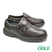 【GOLF】手工氣墊經典休閒鞋 深咖(GF2510-DBR)