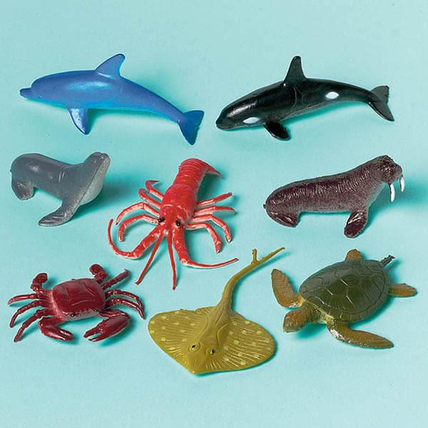 小公仔12入-海底生物