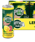 [COSCO代購] C344057 PERRIER 沛綠雅檸檬芭樂氣泡果汁 250毫升X24入