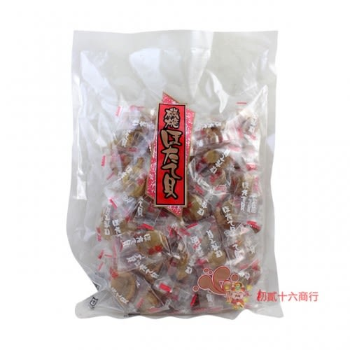 日本零食下酒菜磯燒干貝糖(原味)500g【0216零食團購】4978387034245