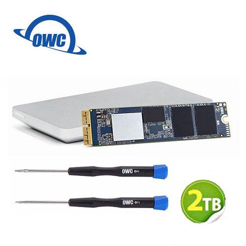OWC Aura Pro X2 2.0TB NVMe SSD 完整升級套件 含工具及Envoy Pro外接盒 (OWCS3DAPT4MB20K)
