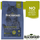 【培菓寵物48H出貨】BLACKWOOD 柏萊富《雞肉 & 米》特調成貓低卡保健配方 1LB/450g