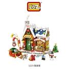 【愛瘋潮】LOZ mini 鑽石積木-1223 聖誕屋 玩具