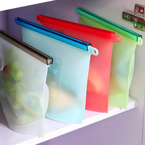 食品級萬用保鮮密封袋 1入 夾鏈袋 保鮮袋【新高橋藥妝】不挑色 隨機出貨