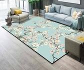 地墊 北歐地毯ins客廳茶幾墊沙發門廳臥室家用長方形