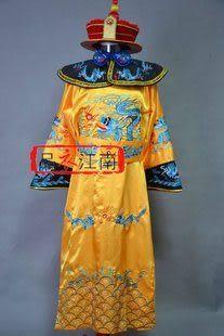 古裝 清朝皇帝龍袍  清朝服裝