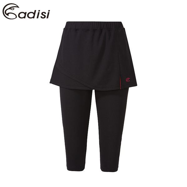 ADISI 女排汗七分裙褲AP1711147 (S~2XL) / 城市綠洲專賣(吸濕排汗、降溫涼爽、戶外機能)