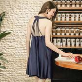 2018新款性感睡裙女士夏季多肩帶短裙家居服《小師妹》yf695