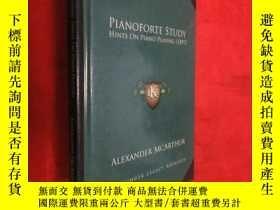 二手書博民逛書店Pianoforte罕見Study: Hints on Piano Playing (1897) (小16開) 【