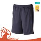 【Wildland 中性 透氣抗UV排汗短褲《灰》】W1666/透氣機能褲/休閒褲/運動褲/防曬/吸濕排汗
