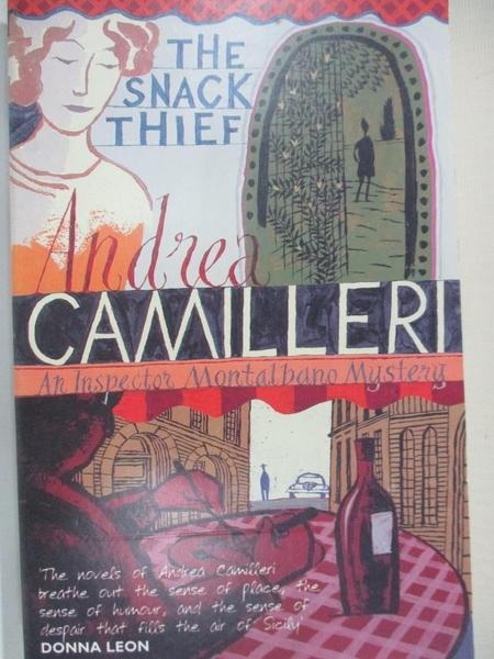 【書寶二手書T1/原文小說_HU5】The Snack Thief_Andrea Camilleri