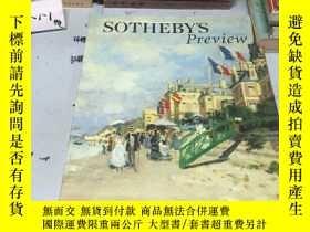 二手書博民逛書店SOTHEBY'S罕見Preview 2000 蘇富比Y182979 蘇富比 蘇富比 出版2000