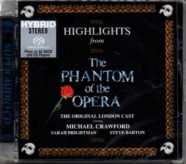【停看聽音響唱片】【SACD】 歌劇魅影 HIGHLIGHTS FROM THE PHANTOM OF THE OPERA