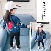 女寶寶牛仔外套夏季裝季兒童童0開衫1一3歲2女童寶寶秋裝韓版上衣潮