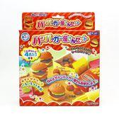 日本 Gincho 銀鳥 無毒粘土 小麥黏土4色入附模具組-漢堡餐組(0075)