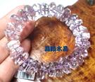 天然紫水晶手鍊 66公克特級~超高淨度~光亮度超優~母親節禮物~附禮盒*免運費