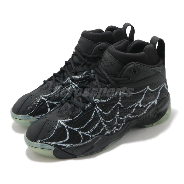Reebok 籃球鞋 Shaqnosis 黑 蜘蛛網 萬聖節 男鞋 歐尼爾 Halloween【ACS】 FZ1359