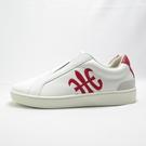 Royal 無鞋帶 休閒鞋 皮革 公司貨 01702019 男款 白紅【iSport愛運動】