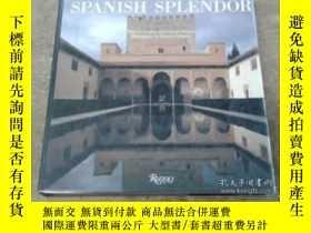 二手書博民逛書店Spanish罕見Splendor Great Palaces,